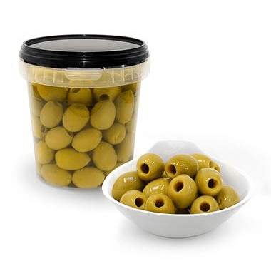 Mammoth Green Olives (Pitted)