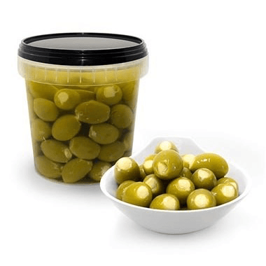 Green Olives Stuffed with Creamcheese