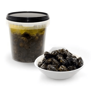Black Dried Moroccan Olives