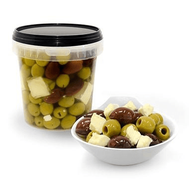 Green Pitted Olives & Kalamata Olives Pitted