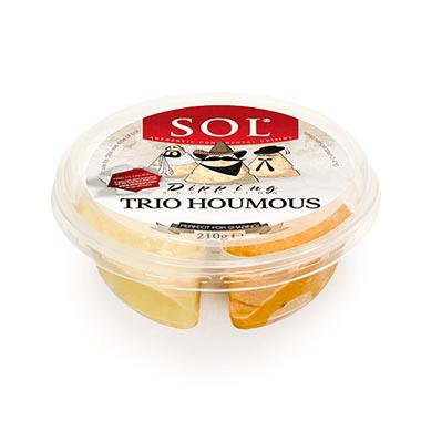 Sol Houmous Trio