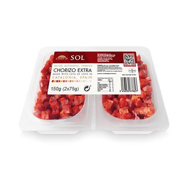 Chorizo Extra Cubes