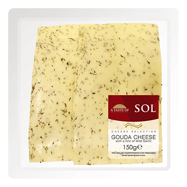 Fresh Pack Gouda With Garlic