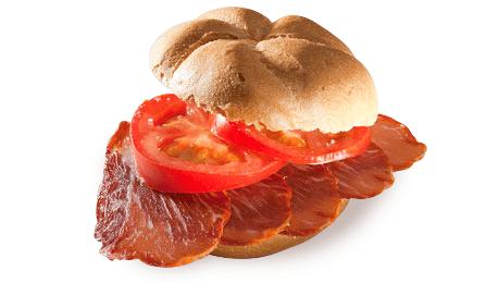 Sandwich: Iberico Loin, Fresh Tomato & Extra Virgin Olive Oil